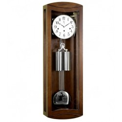 Zegar wiszący Konrad srebro